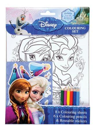 12 X Frozen Colouring Sets Frozen Coloring Disney Frozen Disney