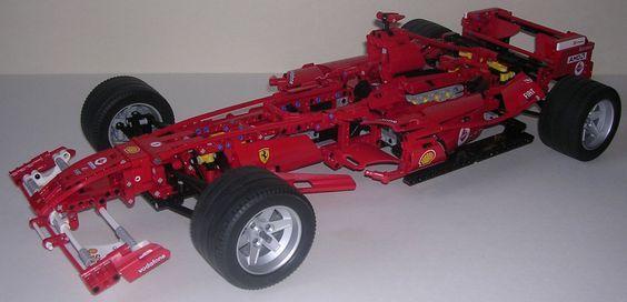 Techlug Fr Review Lego Technic 8674 Formule 1 Ferrari Photos