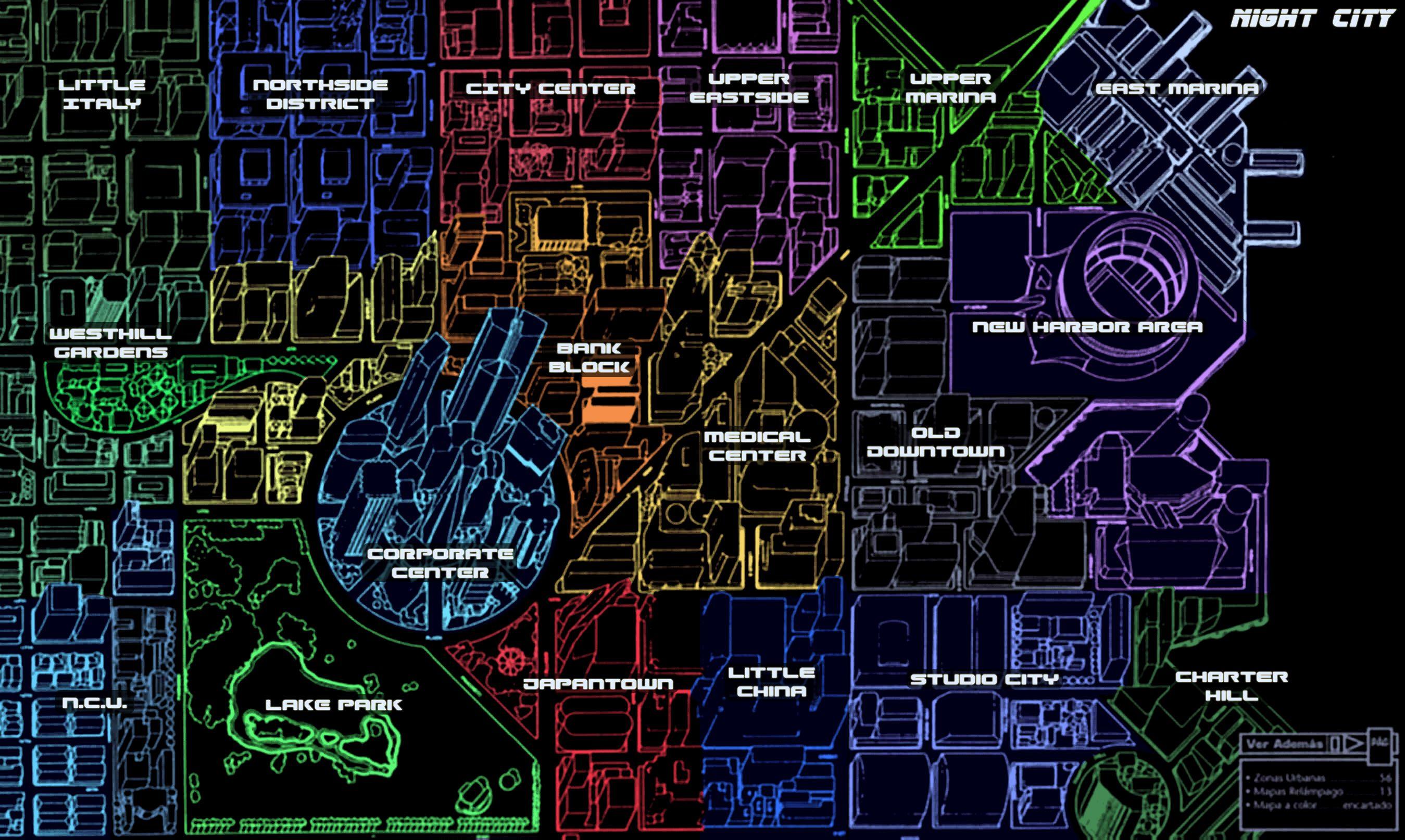 Blade Runner Map Google Search Salas Pinterest Cyberpunk - Run planner google maps