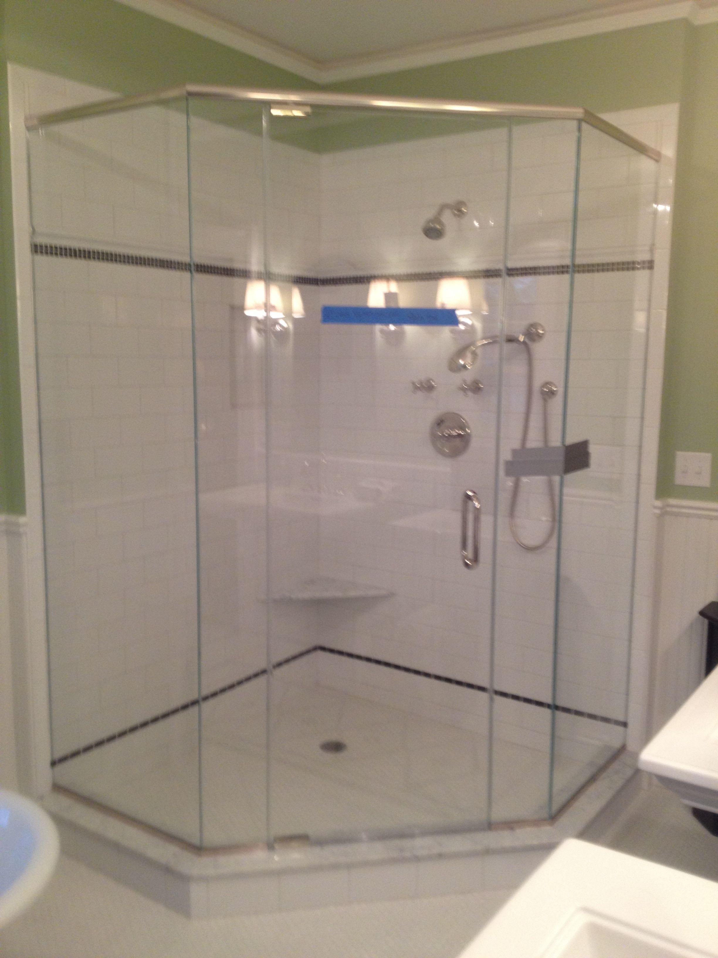 custom frameless neoangle shower sleepy hollow ny