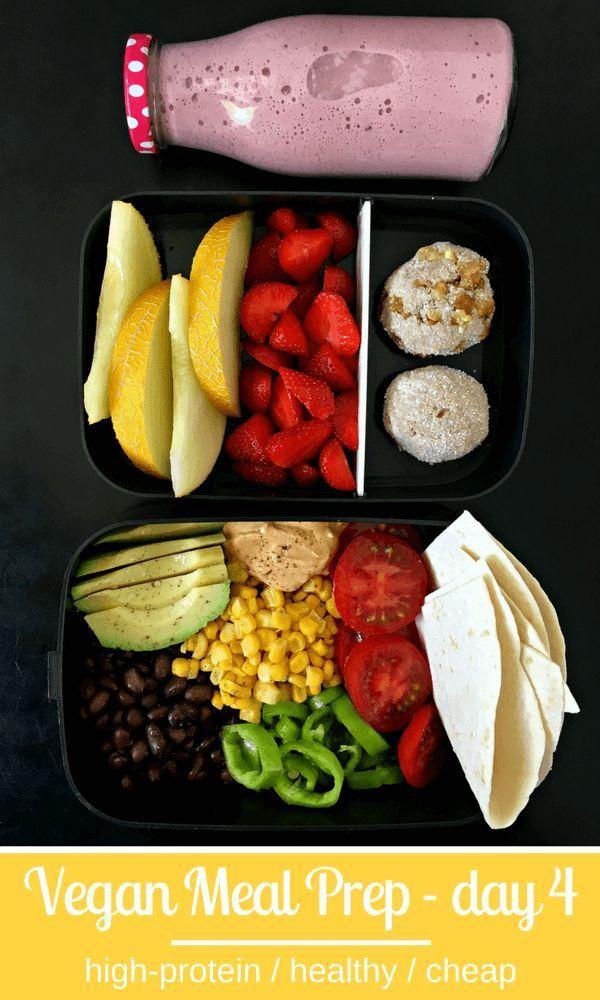 5-tägige proteinreiche vegane Diät zur Gewichtsabnahme Gewichtsabnahme ...   - Frühstück -