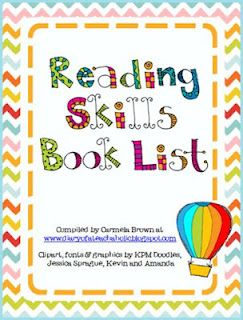 Very helpful when finding the just right book to teach a reading skill