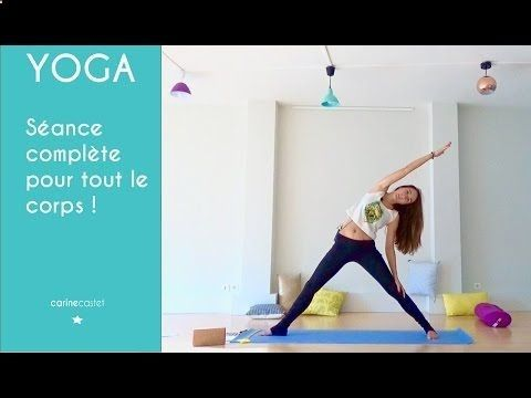 séance de yoga compète  youtube con imágenes