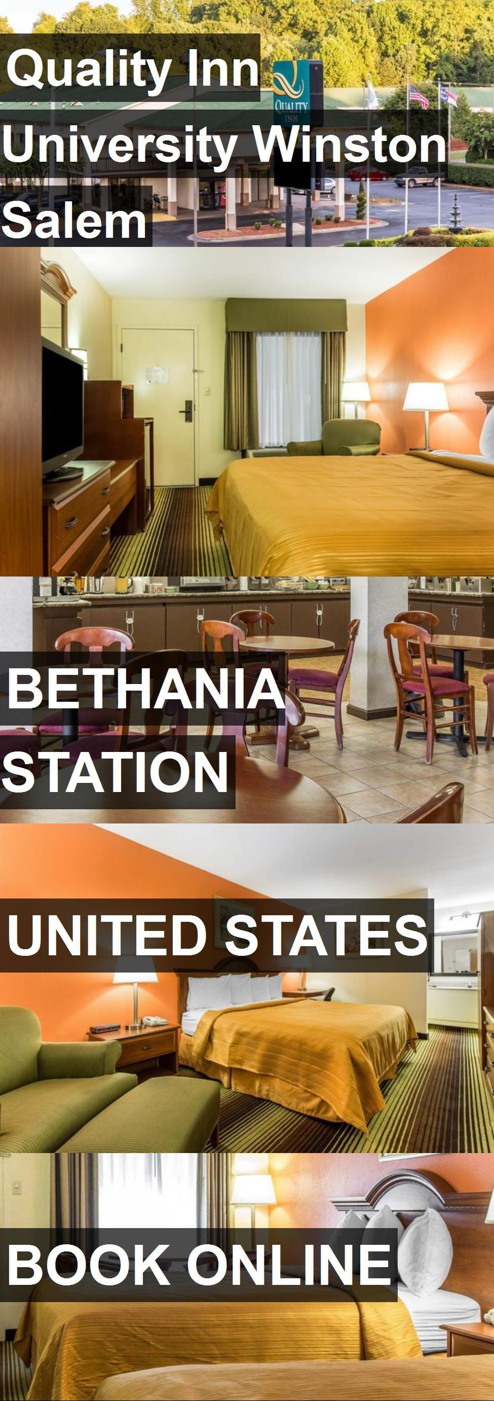 Hotel quality inn university winston salem in bethania