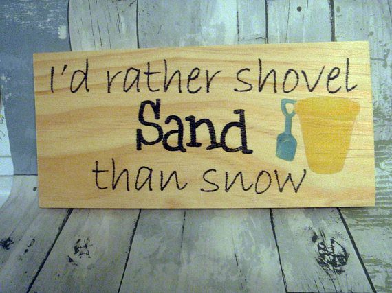 This beach sign is sure to put a smile on your face each time you ...