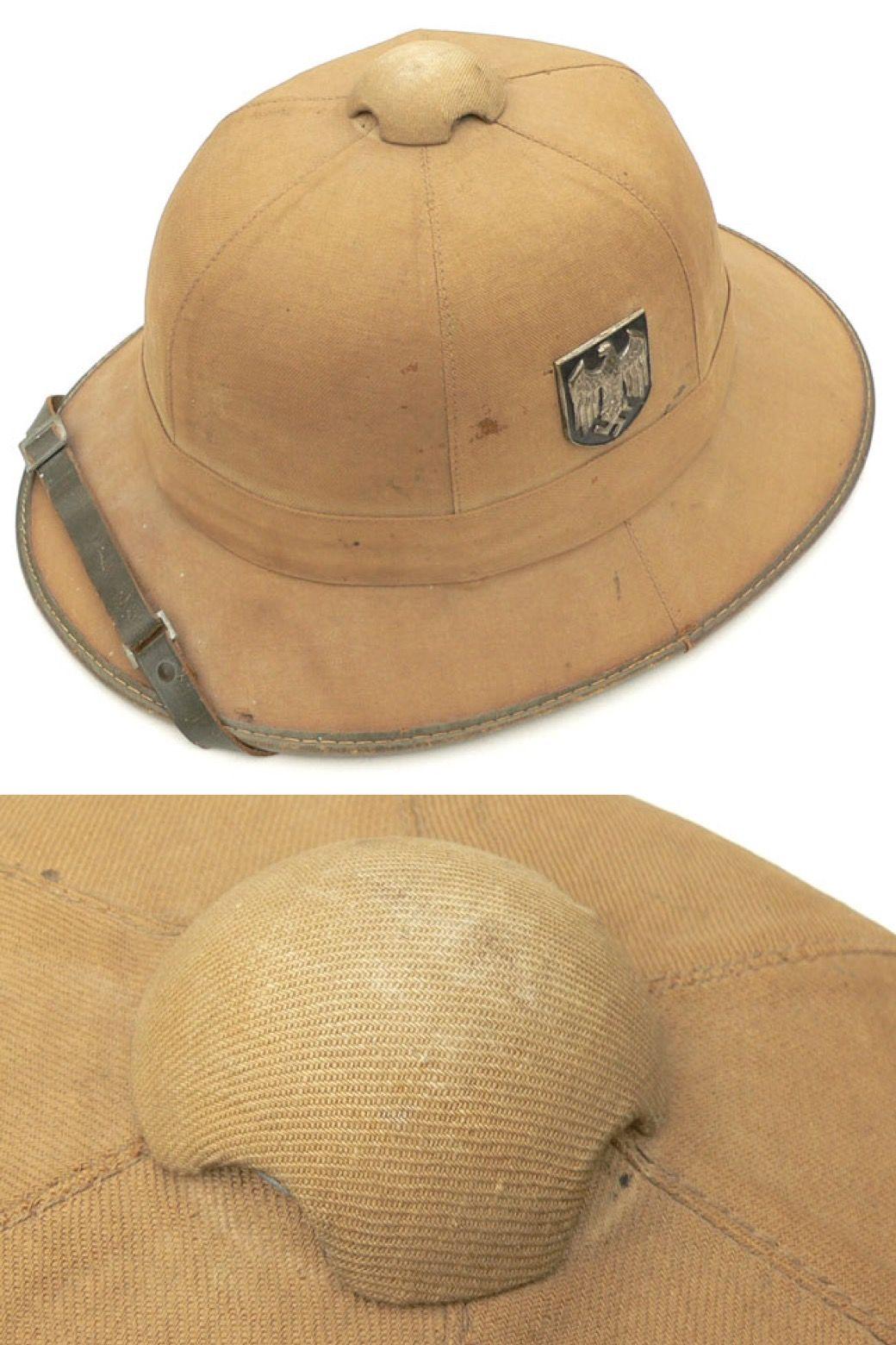 7c399c6d9 WH (Heer) DAK Tropical Pith Helmet.   Adventure girl inspiration ...
