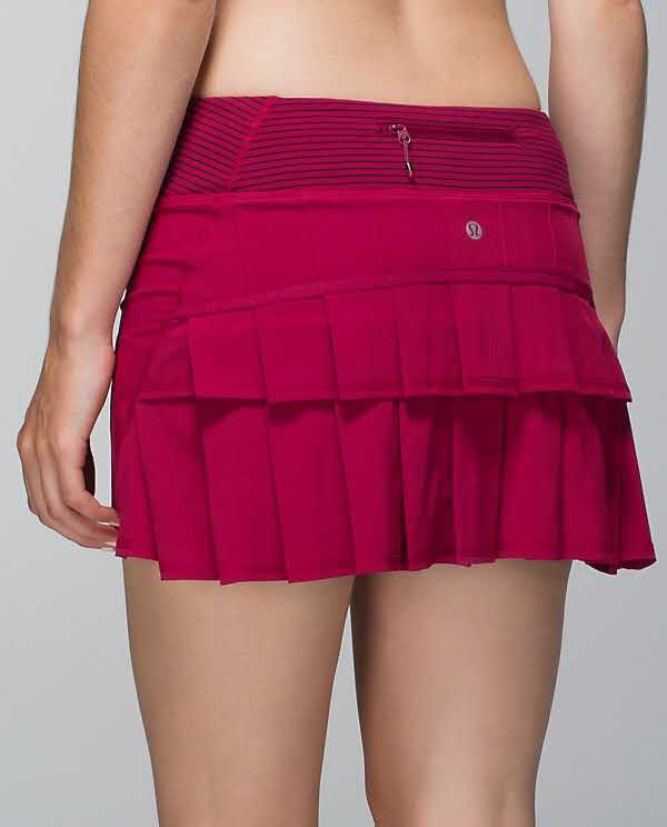 4c8054a2d4 bumble berry/hyper stripe bordeaux drama bumble berry pacesetter size 6 Running  Skirts, Fun