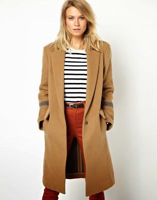 The Frugality: The perfect camel coat...