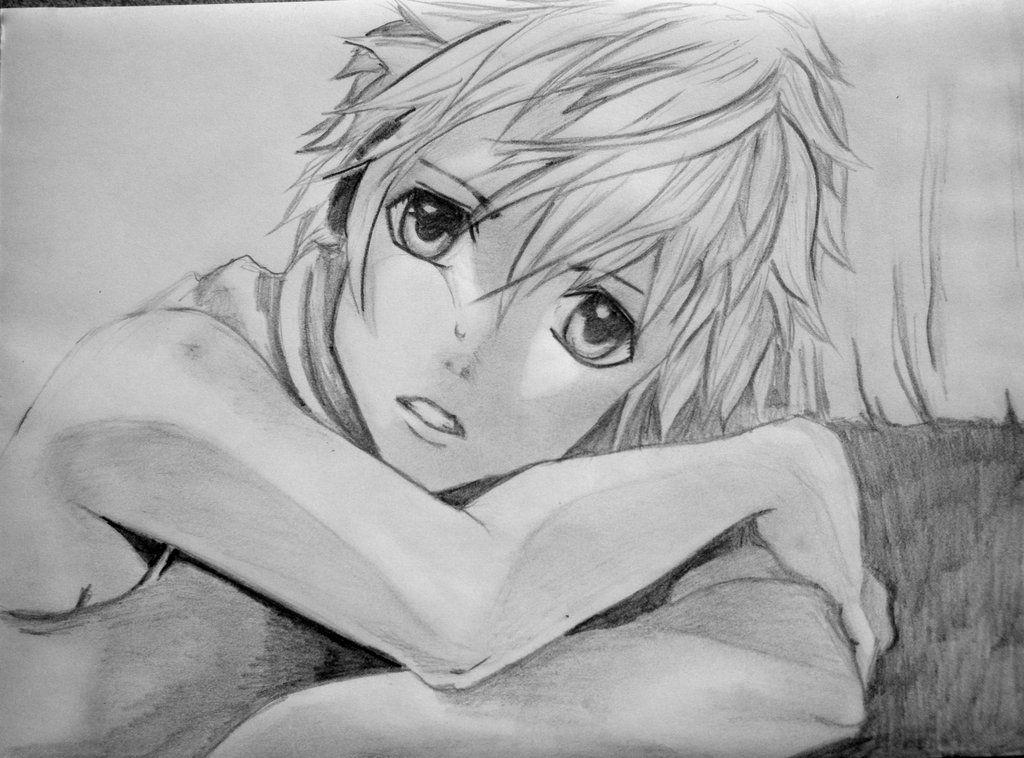 21+ Anime Guy Crying Drawing JPG