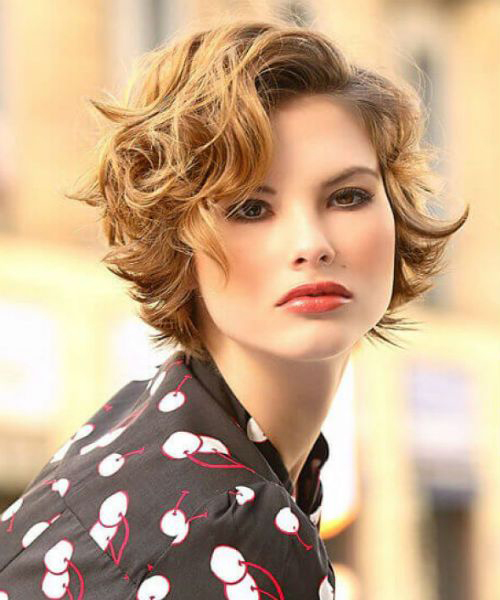 Modern Short Curly Hairstyles 2021 For Girls And Women Hair Styles Short Hair Styles Curly Girl Hairstyles