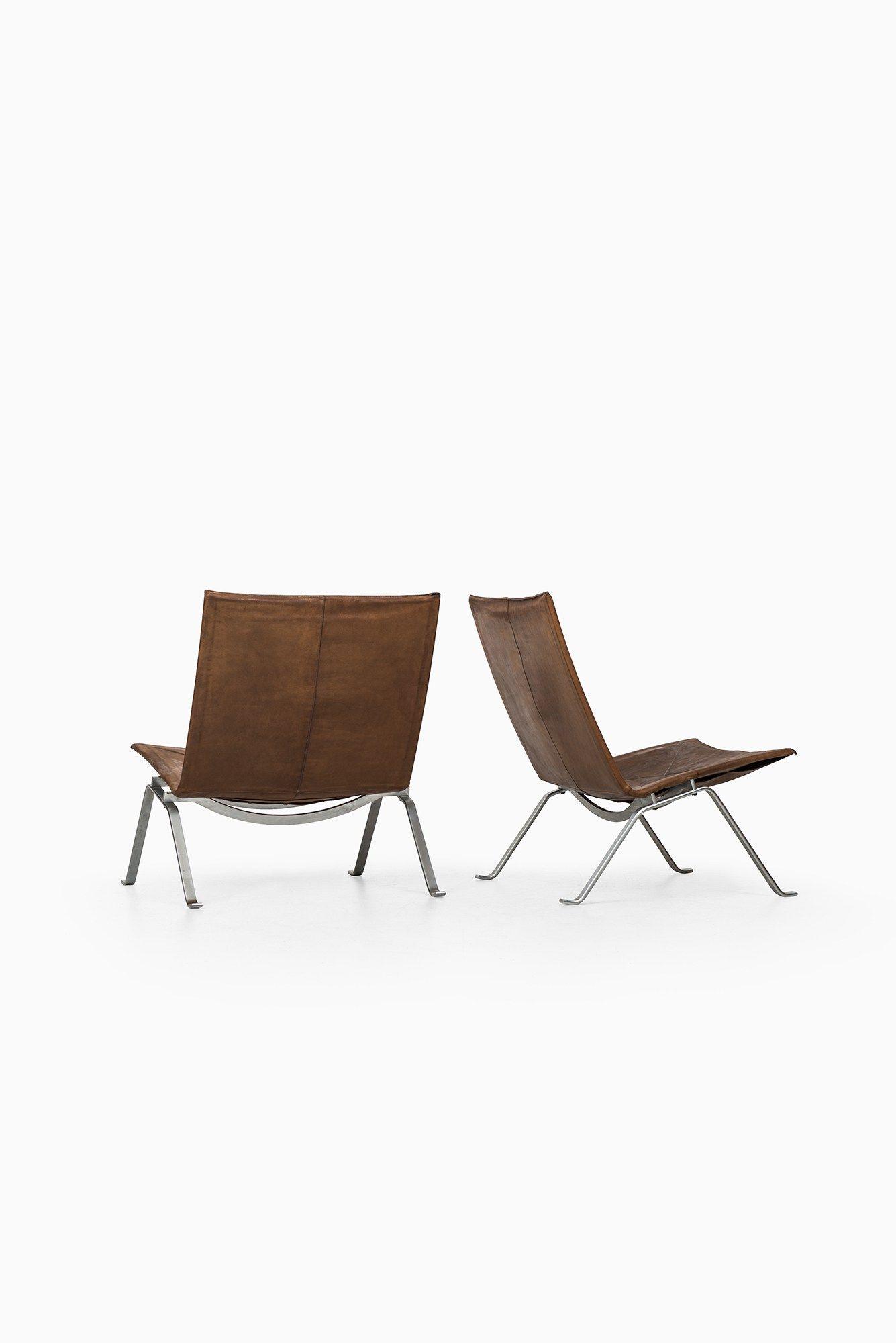 Poul kjærholm pk easy chairs at studio schalling studio