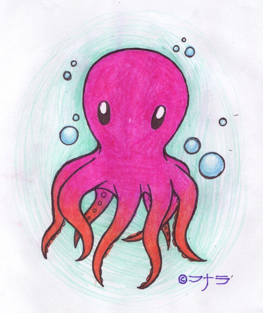 blub blub octopus by masukoonadeviantartcom on DeviantArt