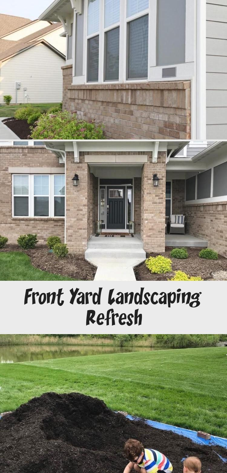 Front Yard Landscaping Refresh - Architecture  Rainscaping – Front Yard Landscaping Refresh #gardenlandscapingPorches #Frenchgardenlandscaping # #Architecture #front #landscaping #Refresh #yard #lawn chairs front yard