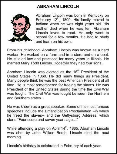 Christian Homeschool Hub Abraham Lincoln Resources Homeschool