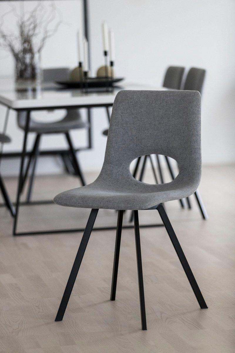 Stühle (4 Stück) grau, yourhome Jetzt bestellen unter: https ...
