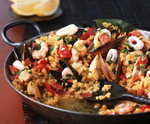 10 paellas de lujo para un d a perfecto recetas pinterest spanish food food and recipes. Black Bedroom Furniture Sets. Home Design Ideas