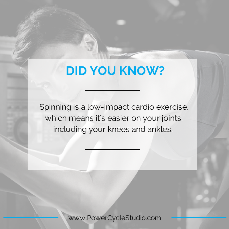 #didyouknow #spinning #powercycle