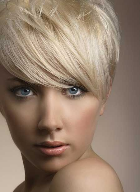 Admirable 1000 Images About Hair On Pinterest Platinum Pixie Short Short Hairstyles Gunalazisus