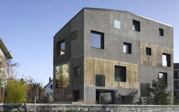 Viviendas colectivas con las ventajas de las viviendas unitarias. Villa Urbana 4 en 1. 2b stratégies urbaines concrétes – Planos de Casas Gratis