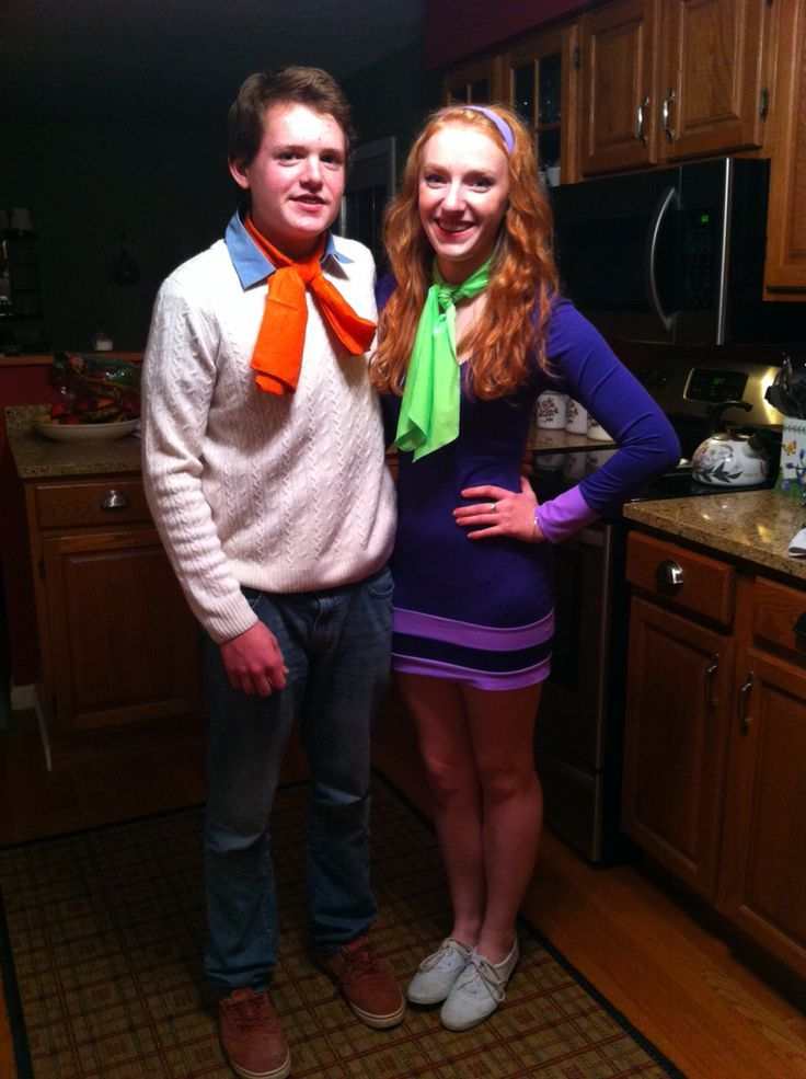 Daphne and Fred Halloween costume couple halloween party cute