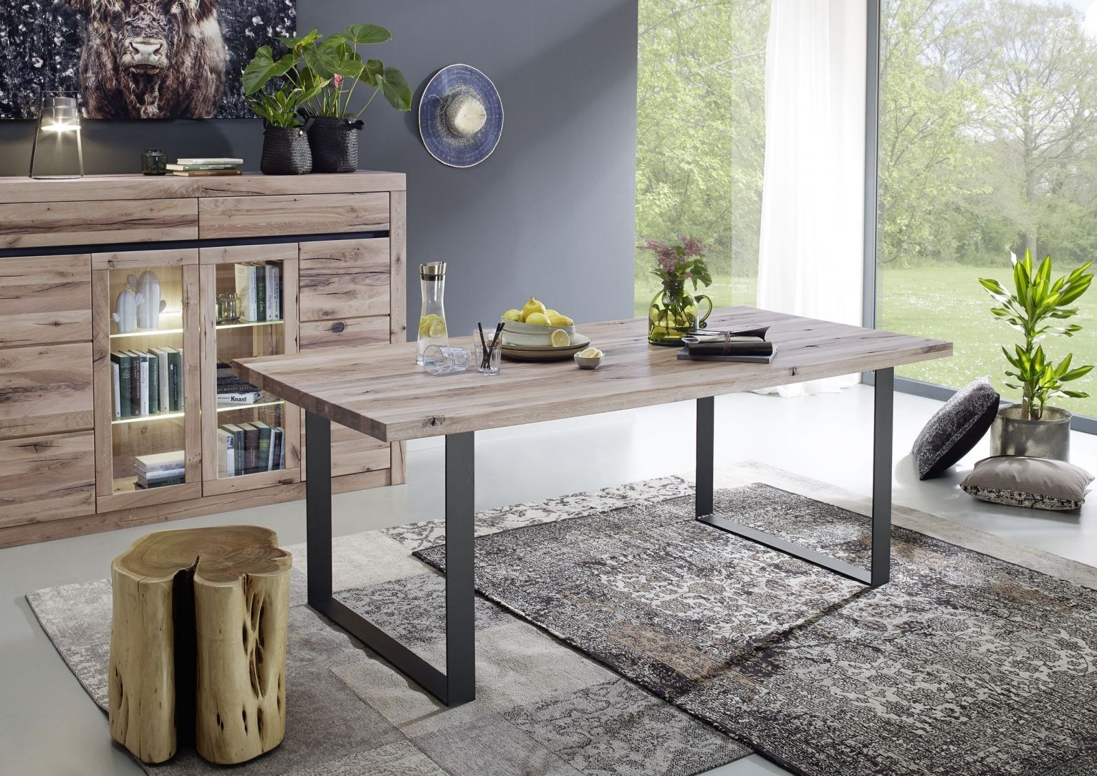 Eiche Möbel versandfrei kaufen Eiche rustikal, Esstisch