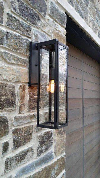 50 Outdoor Garagen Beleuchtung Ideen Aussen Beleuchtung Designs Deutsch Style In 2020 Modern Outdoor Lighting House Lighting Outdoor Outdoor Light Fixtures