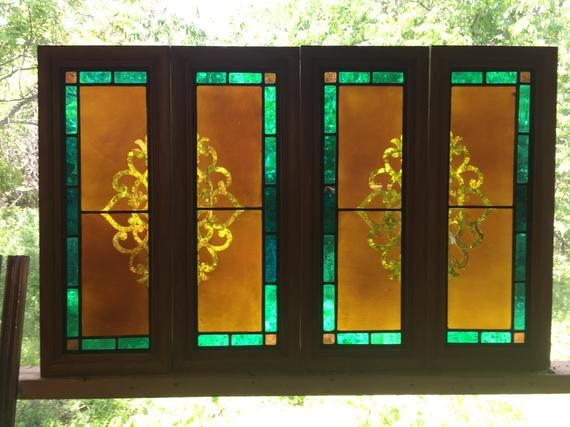 Stained Glass Cabinet Shutter Inserts Stained Glass Cabinets