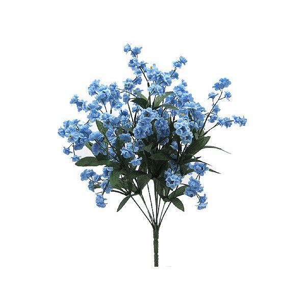 Polyvore Flowers Blue Aesthetic Flower Art