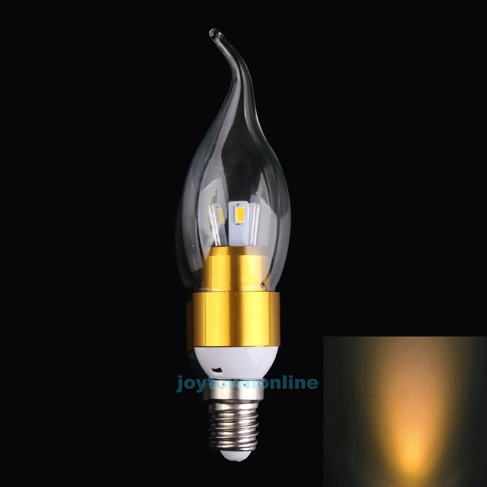 E w led candle light bulb room warm white flicker power lamp for