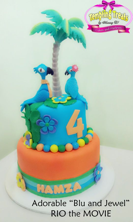 by dalisayocampo Ro cake Pinterest Rio cake Cake and Movie cakes