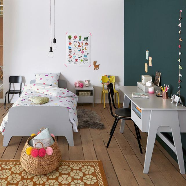 Bureau style rétro vintage, Adil Vintage, Bureaus and Style - amenager chambre bebe dans chambre parents