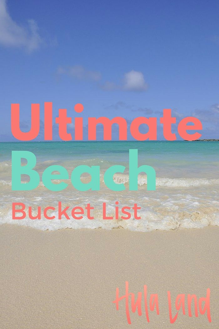 Any Beach Worth Their Salt Or Sand Has A Bucket List Of Destinations They D Like To Hit In Lifetime And This Is Mine