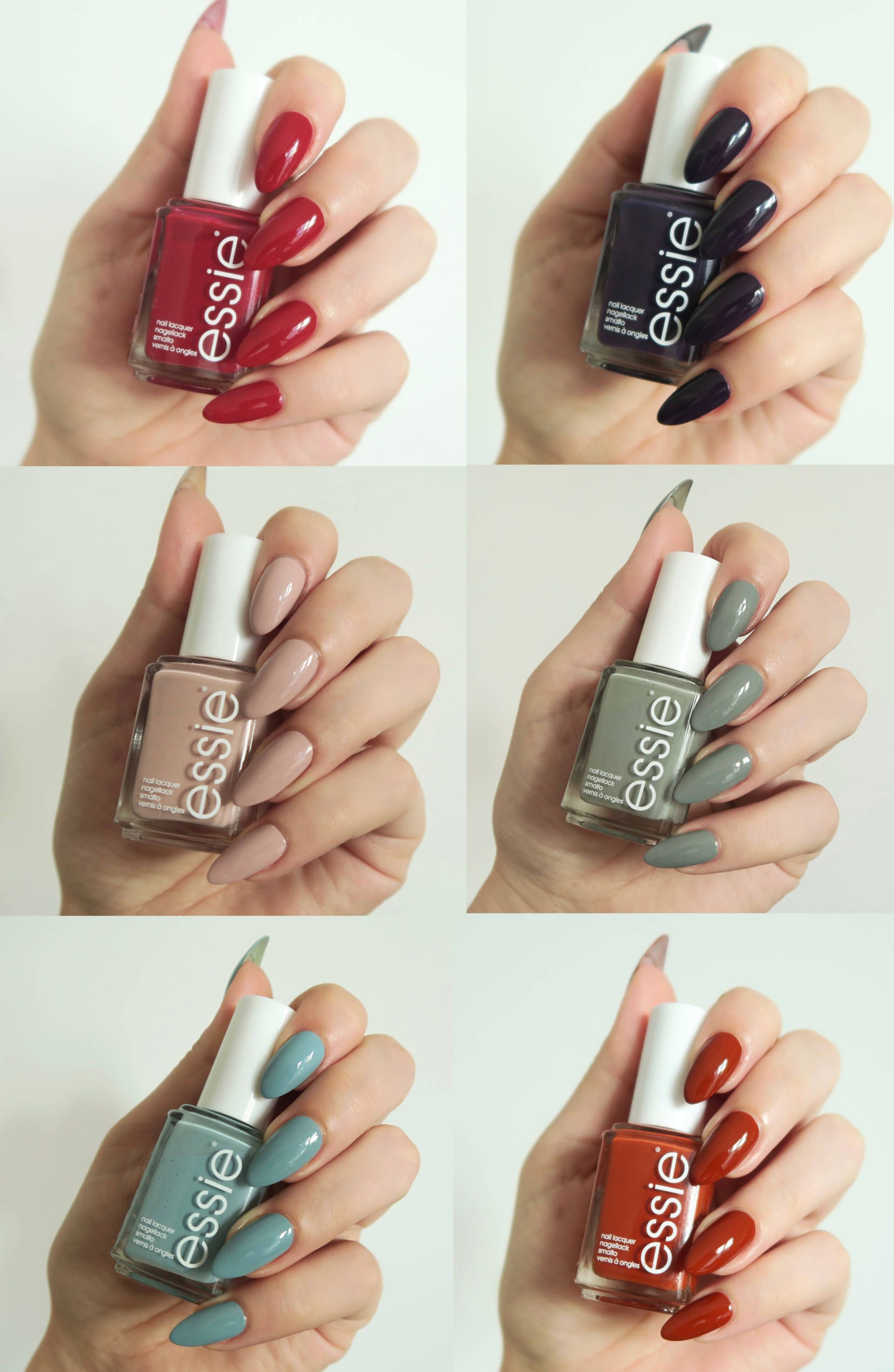 Essie Fall Collection 2016 Review - Talonted Lex Blog | Fall ...