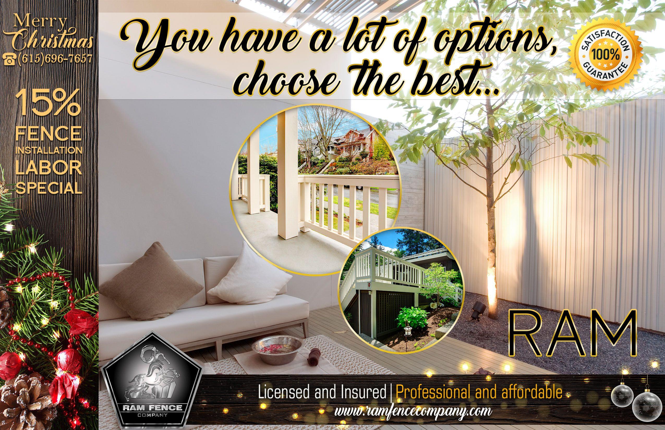 www.ramfencecompany.com (615) 696-7657