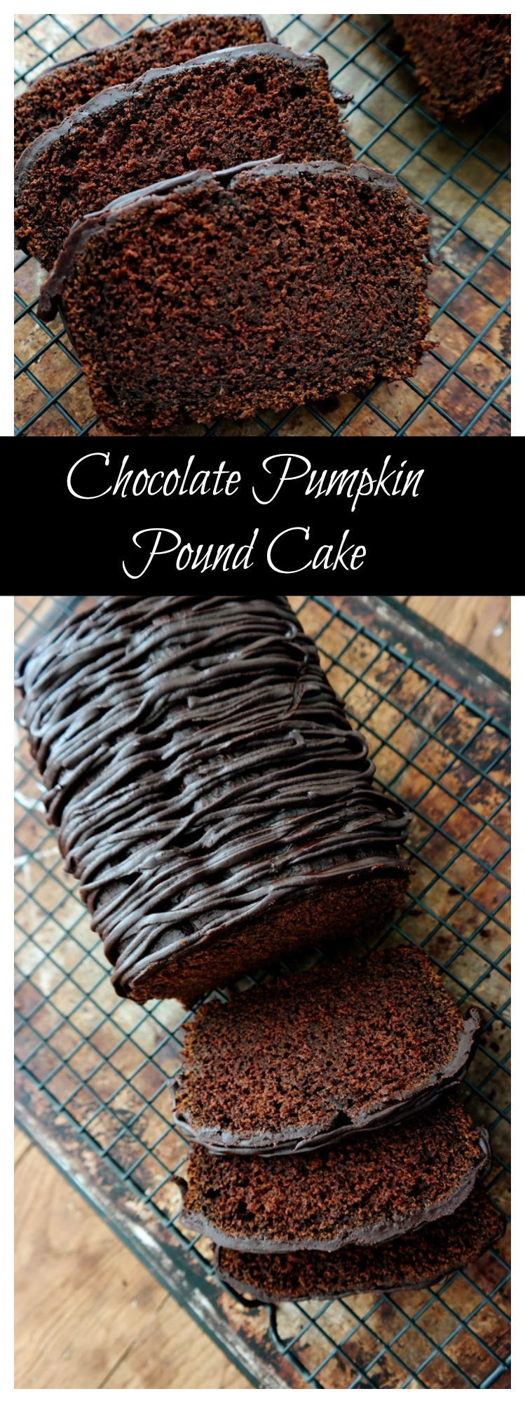 Chocolate pumpkin pound cake reciperich moist with just