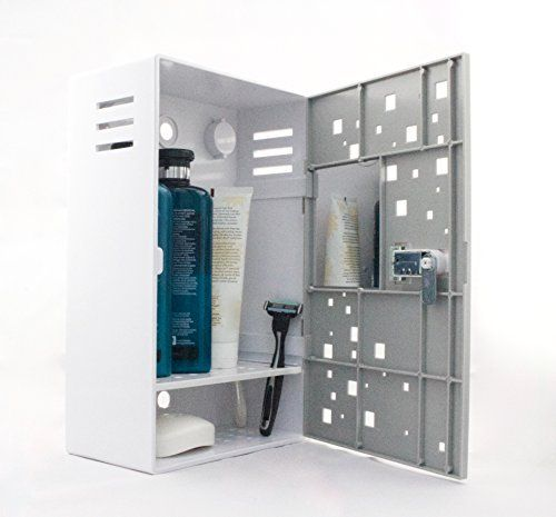 Shlocker Shower Locker Gray Locking Shower Caddy Plastic Shower ...
