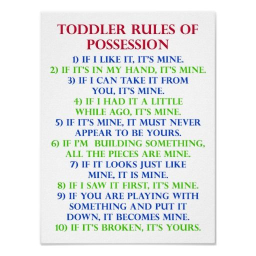 Image result for toddler rules