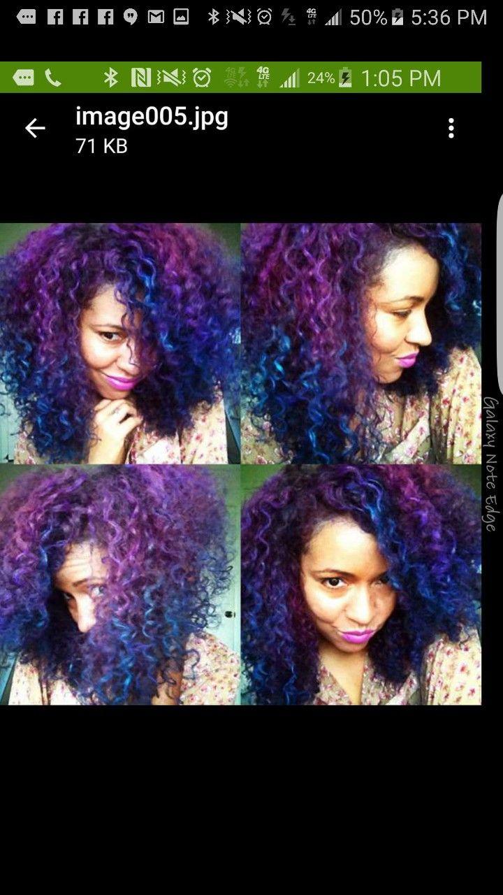 Pin By Sheina Greaves On Hair Goals Hair Dye Tutorial Splat Hair Dye Natural Hair Styles
