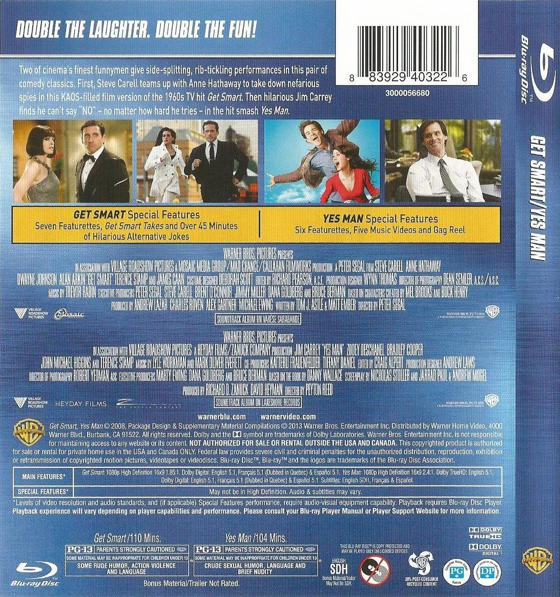 Get Smart Yes Man Blu Ray Yes Man Movie Covers Blu Ray Movies