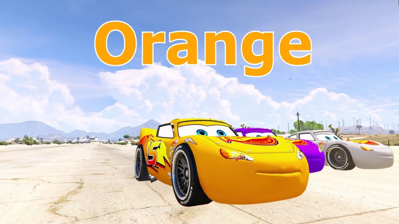 Liked On Youtube Learn Colors For Children With Color Mcqueen Cars