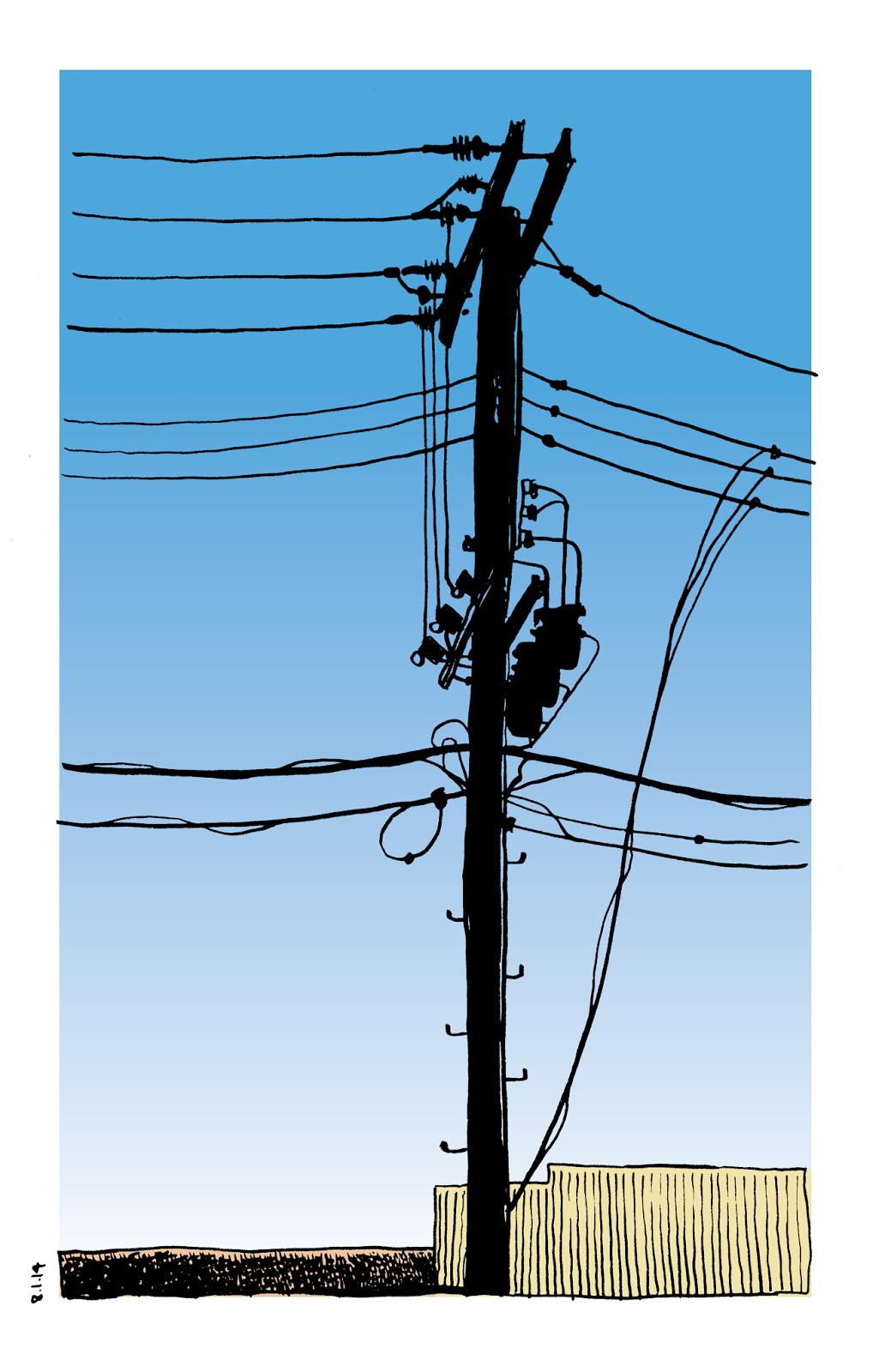 Don Moyer Telephone Pole 2014 Utility Pole Pole Graphic Design