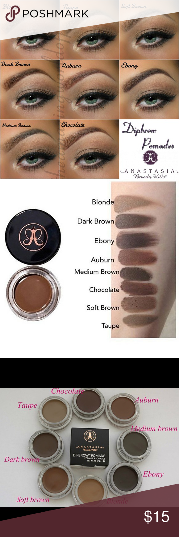 Anastasia eyebrow pomade colors-5610