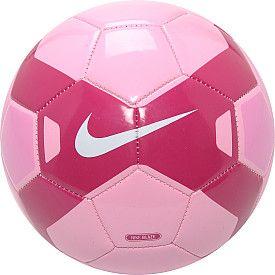 Nike pink soccer ball