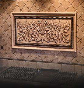 Decorative Backsplash Tile Awesome Andersen Ceramics Specializes In Decorative Backsplash Tiles For Inspiration Design