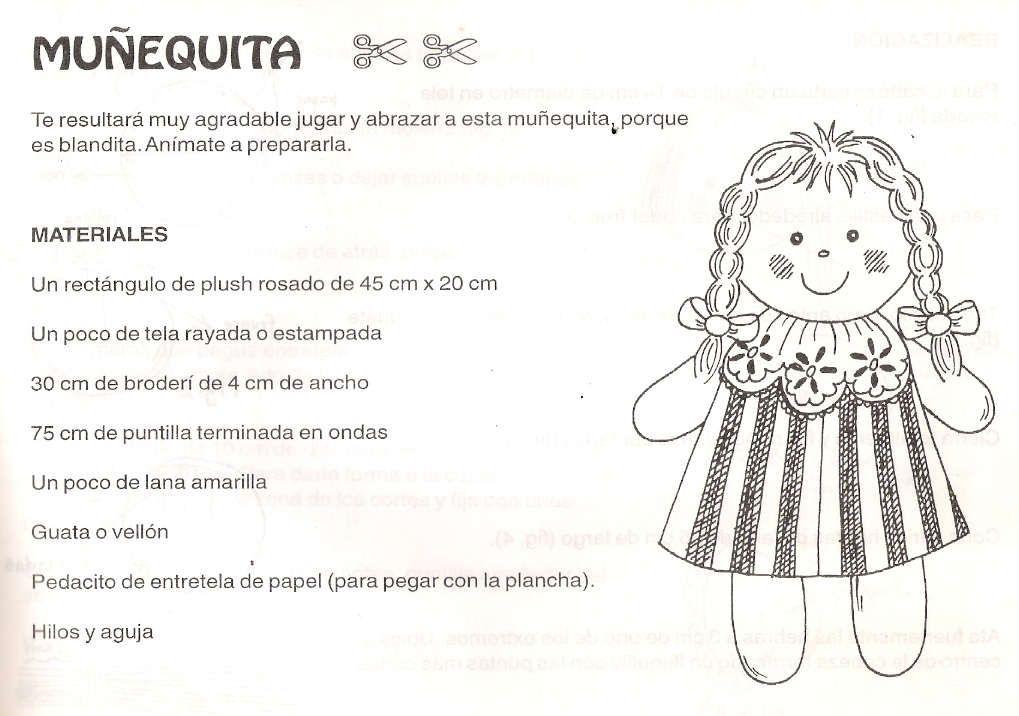 Hoy todo es rosa : ¿Cómo hacer muñecas de trapo? | maria luisa ...