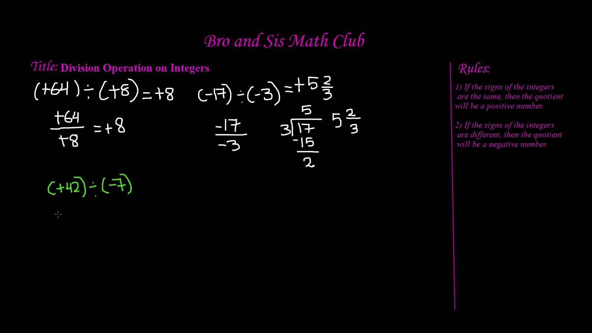 Math Ideas Math Worksheets Math Integers Math [ 1080 x 1920 Pixel ]