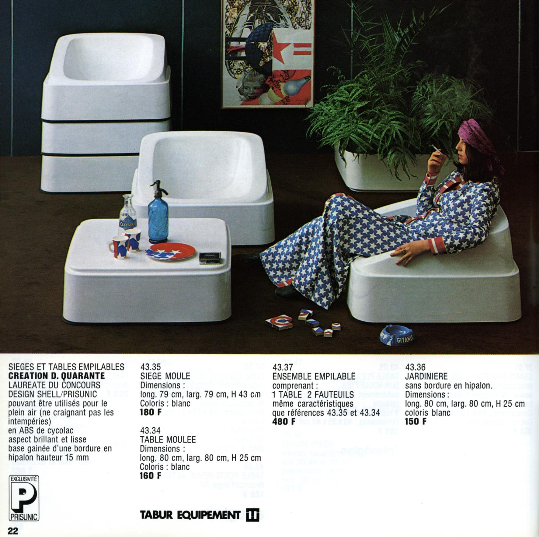 Prisunic Design Design Modular Furniture Trending Decor