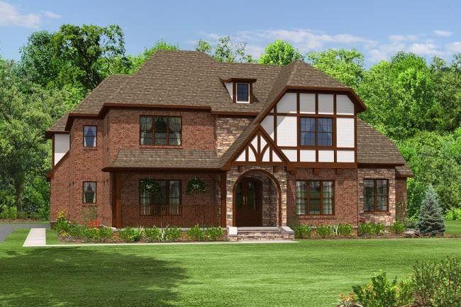 4 Bedroom 4 Bath Contemporary House Plan Alp 027r House Plans Tudor House English House