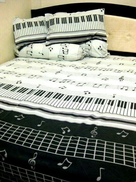 Music Note Comforter Set For Bedroom Music Bedroom Music
