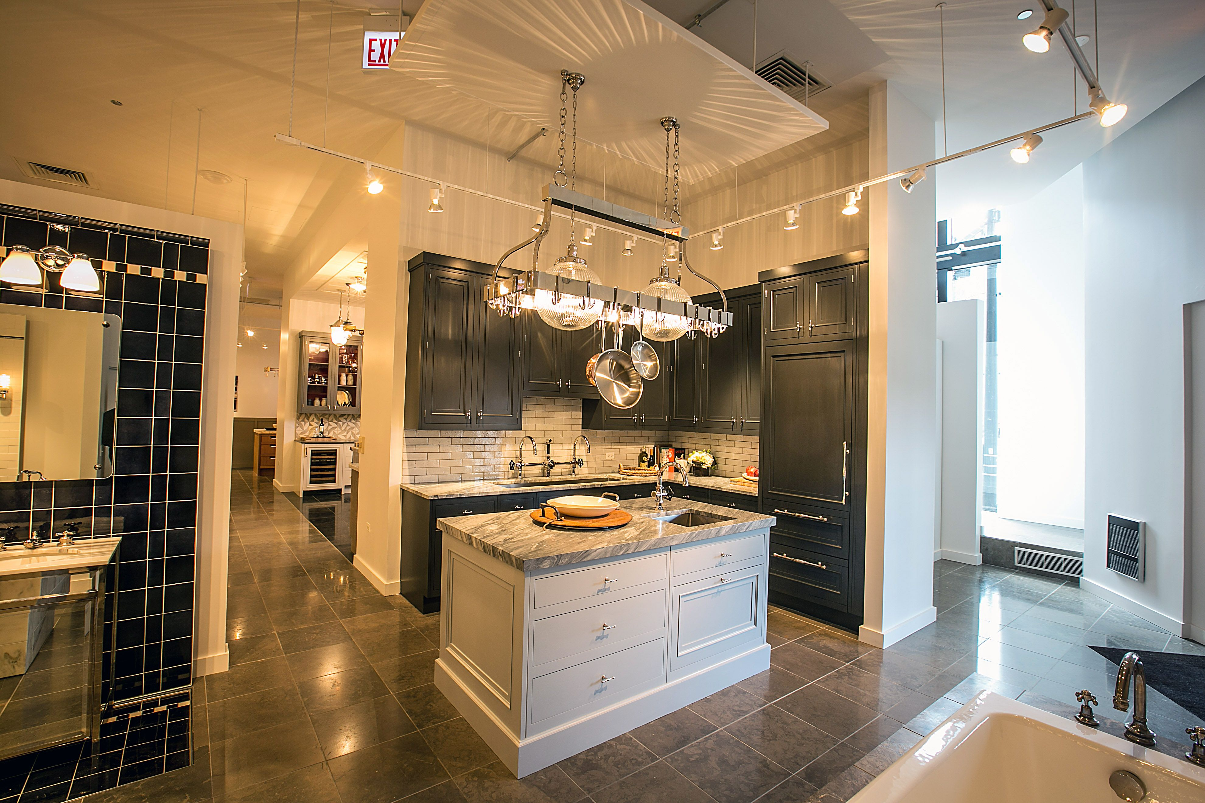 Waterworks Kitchen in Chicago Showroom | Chicago Showroom | Pinterest